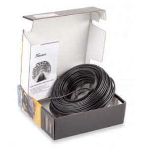 Кабель нагревательный одножильный Nexans TXLP/1, 28 Вт/м (black)