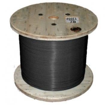 Кабель нагревательный одножильный отрезной Nexans TXLP BLACK (DRUM)