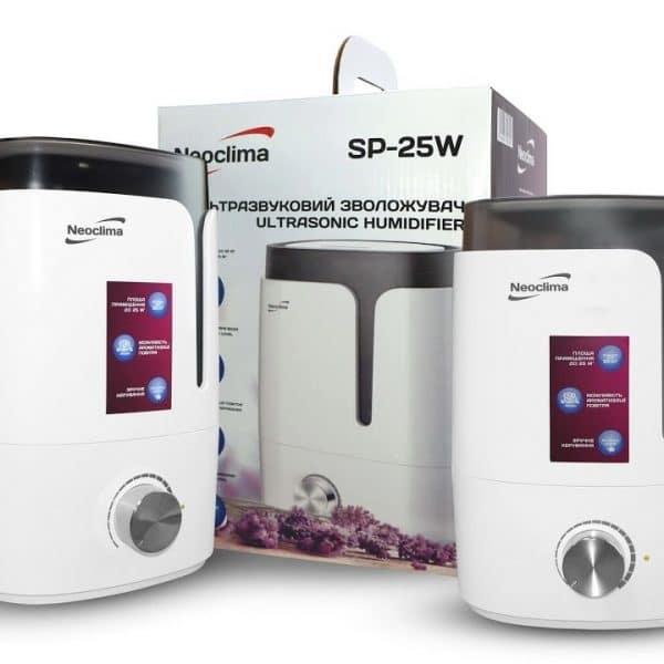 Ультразвуковой увлажнитель воздуха Neoclima SP-25W